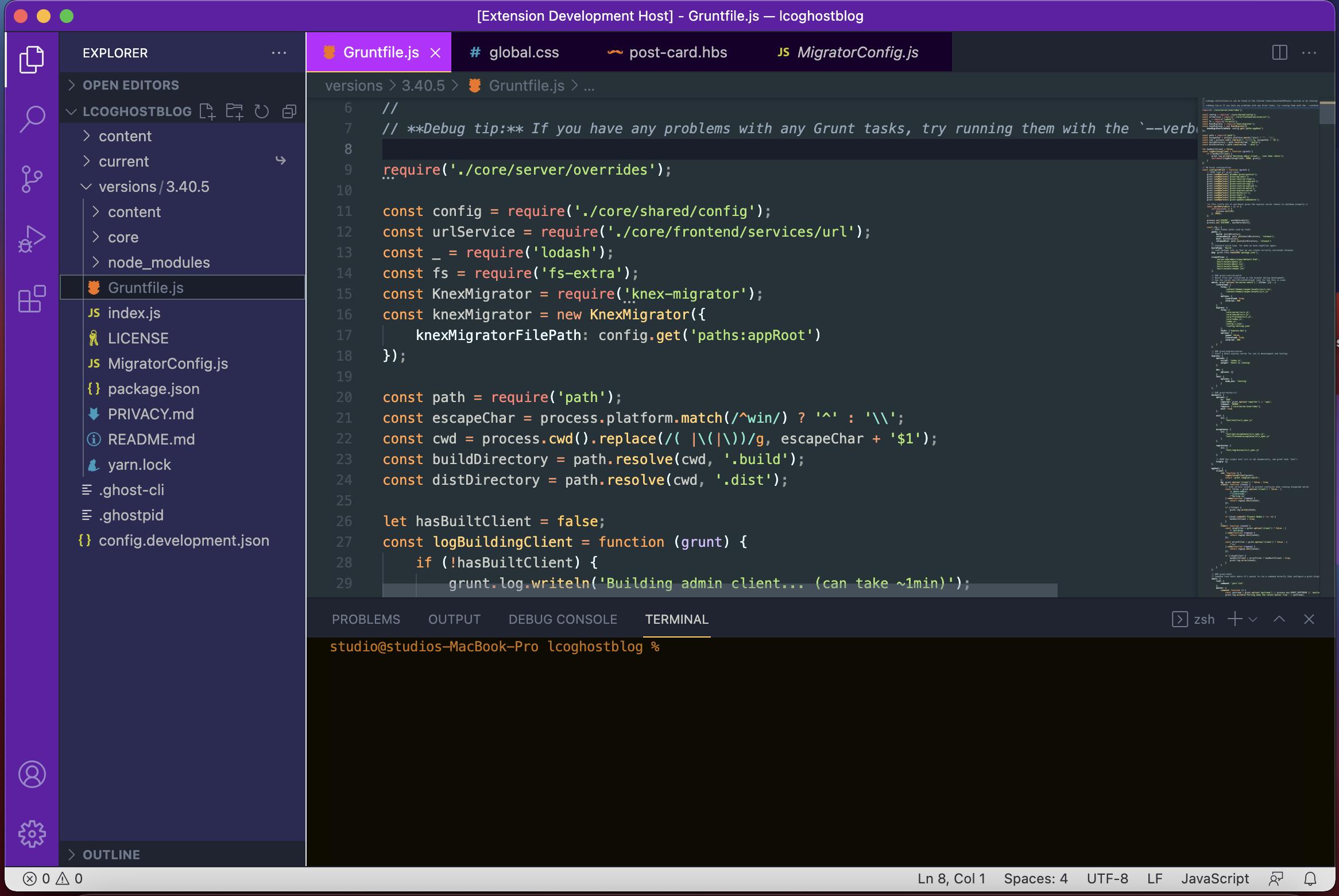 Theme Screenshot